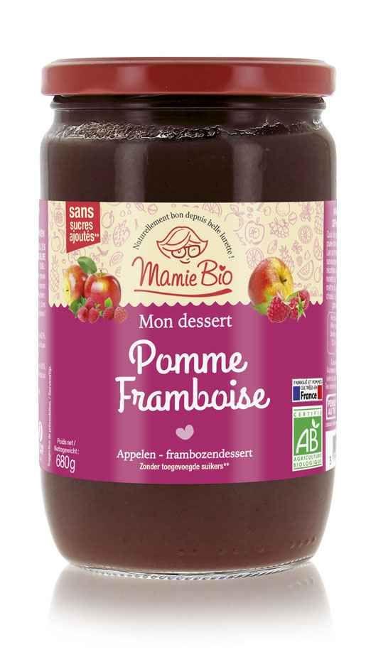puree-de-pomme-france-framboise-bio-680g