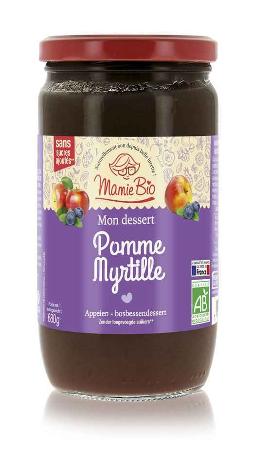 puree-de-pomme-france-myrtille-bio-680g