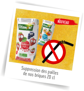 Suppression des pailles