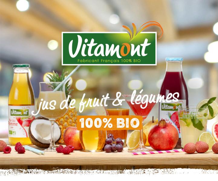 Jus de fruit et légumes 100% Bio