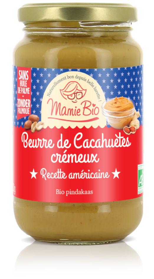 beurre de cacahuètes cremeux bio de 350g