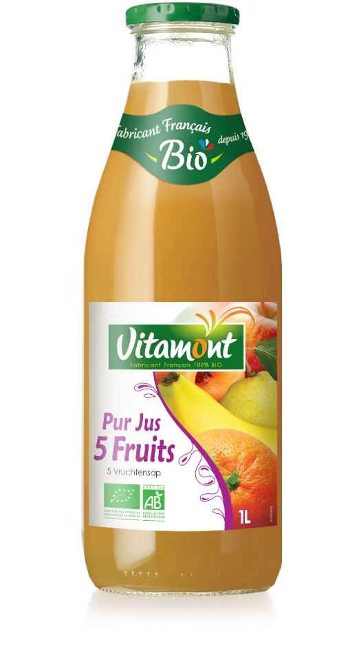 VIT-PJ-5 fruits-1L