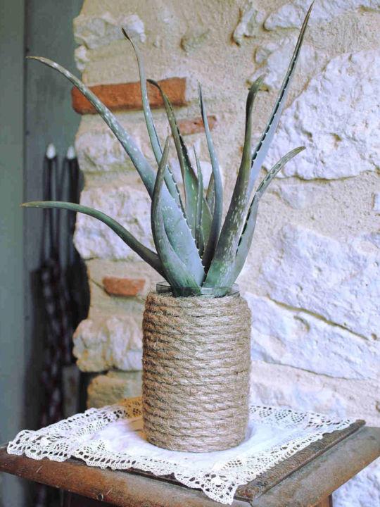 Pot à plantes