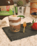 Dessert liégeois glacé vegan